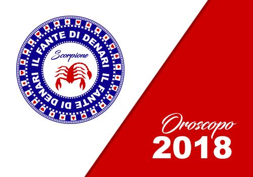 oroscopo 2018 scorpione