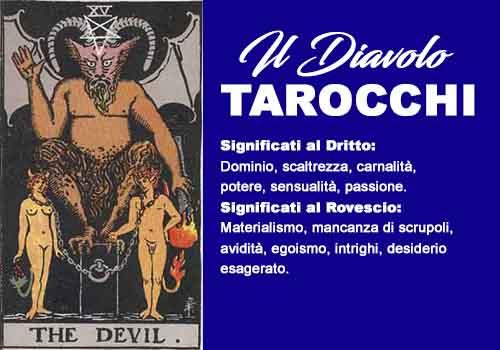 tarocchi il diavolo