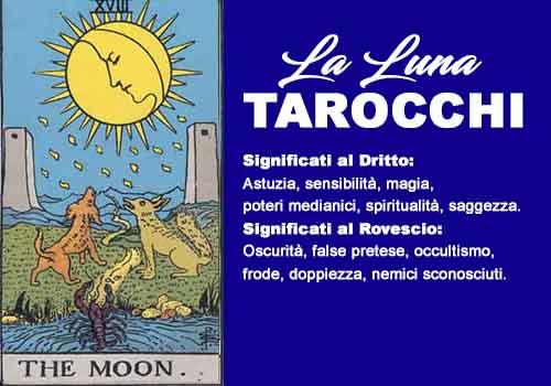 tarocchi la luna