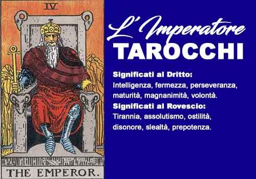 tarocchi l'imperatore