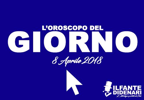 Oroscopo del giorno 8 aprile 2018 il fante di denari - Un giorno di sole gemelli diversi ...