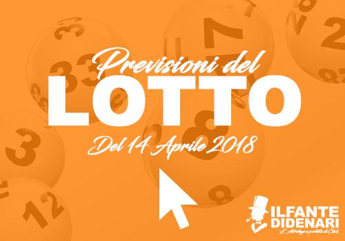 Lottologia Previsioni Lotto Gratis Estrazione Del 14 Aprile 2018